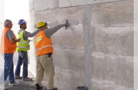 יישור קירות לביצוע חיזוק גשר